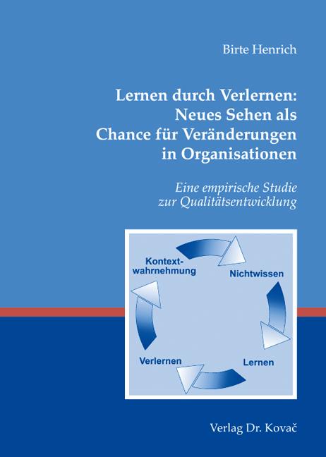 Cover: Lernen durch Verlernen: Neues Sehen als Chance für Veränderungen in Organisationen