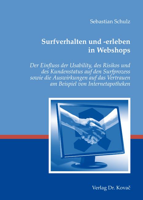 Cover: Surfverhalten und -erleben in Webshops