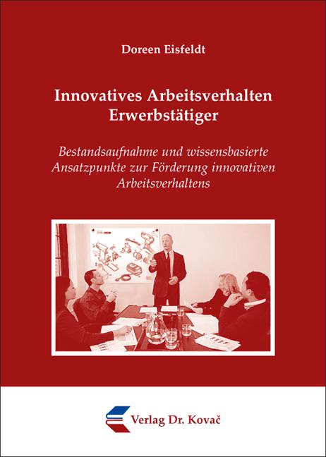 Cover: Innovatives Arbeitsverhalten Erwerbstätiger