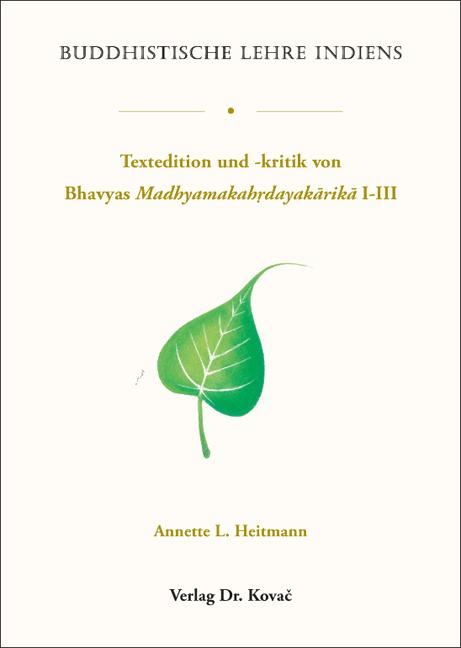 Cover: Buddhistische Lehre Indiens