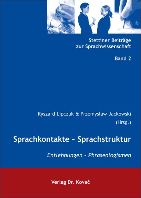 Cover: Sprachkontakte – Sprachstruktur