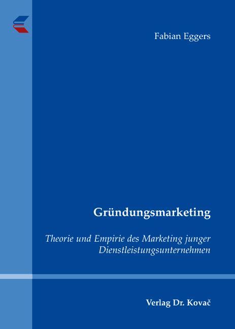 Cover: Gründungsmarketing