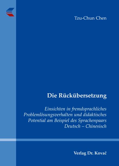 Cover: Die Rückübersetzung