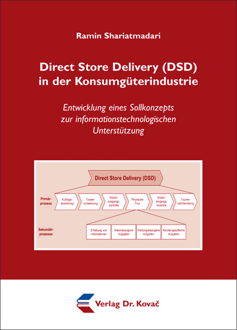 Cover: Direct Store Delivery (DSD) in der Konsumgüterindustrie
