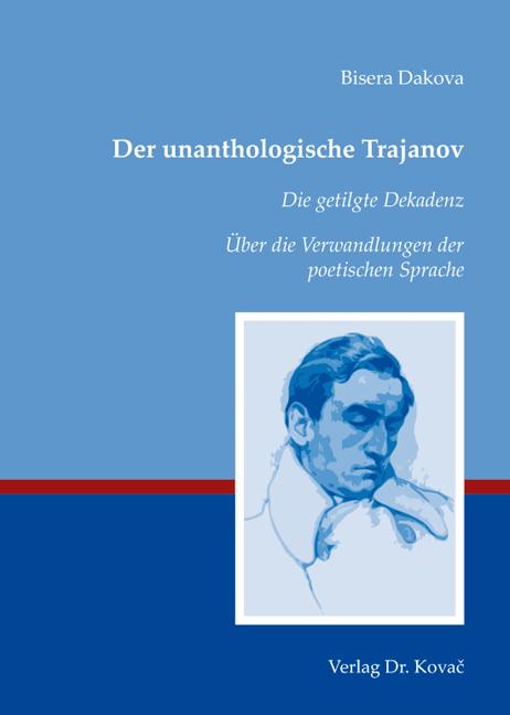 Cover: Der unanthologische Trajanov