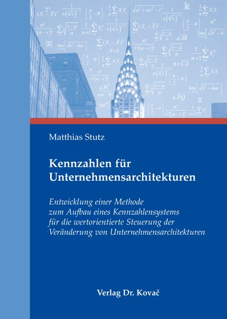 Cover: Kennzahlen für Unternehmensarchitekturen