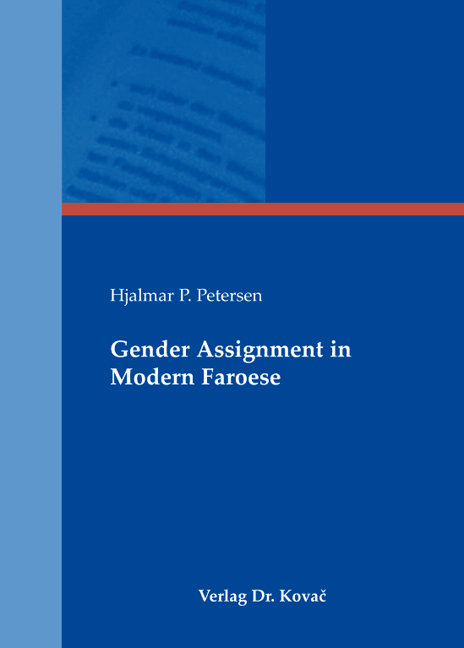 Cover: Gender Assignment in Modern Faroese