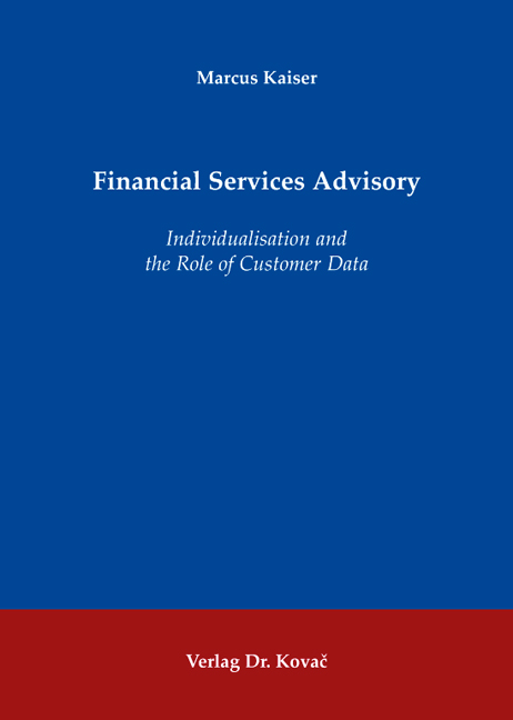 Cover: Financial Services Advisory