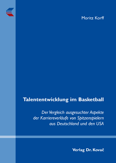 Cover: Talententwicklung im Basketball