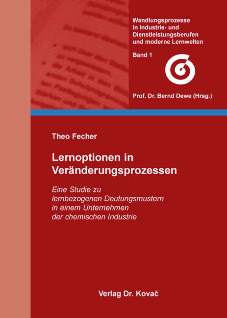 Cover: Lernoptionen in Veränderungsprozessen