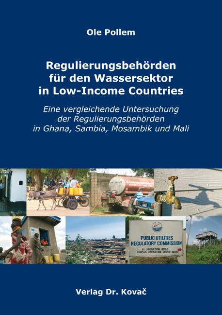 Cover: Regulierungsbehörden für den Wassersektor in Low-Income Countries