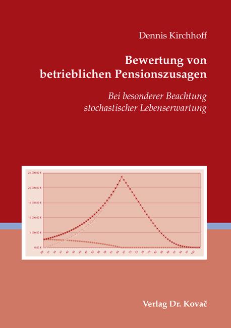 Cover: Bewertung von betrieblichen Pensionszusagen
