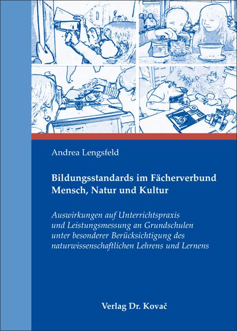 Cover: Bildungsstandards im Fächerverbund Mensch, Natur und Kultur