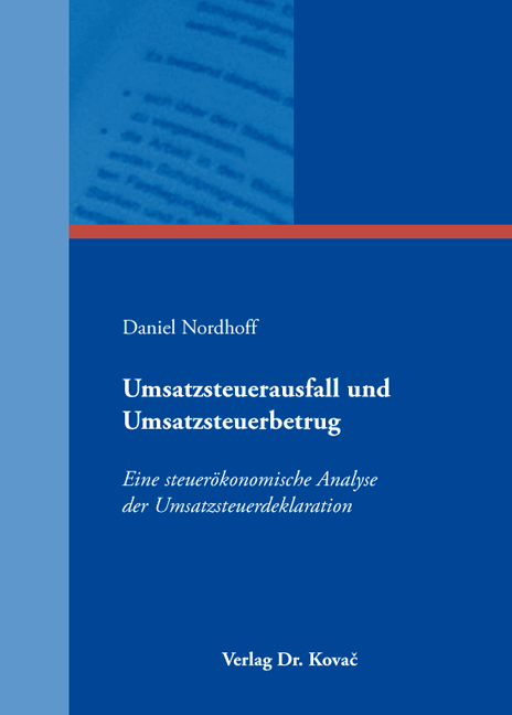 Cover: Umsatzsteuerausfall und Umsatzsteuerbetrug