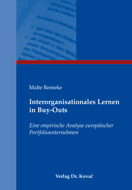 Cover: Interorganisationales Lernen in Buy-Outs