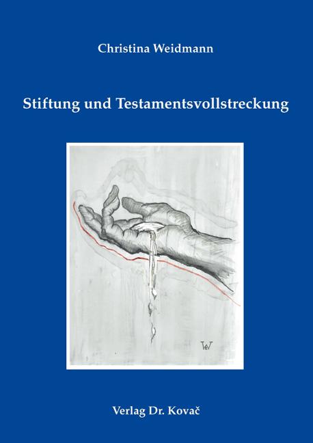 Cover: Stiftung und Testamentsvollstreckung