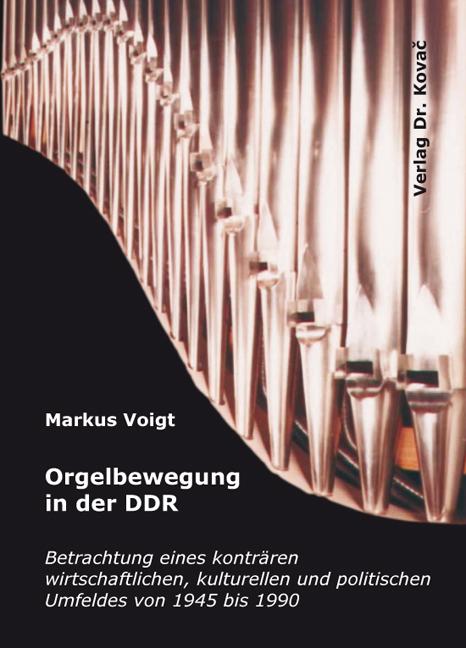 Cover: Orgelbewegung in der DDR