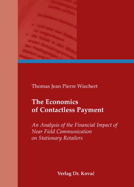 Cover: The Economics of Contactless Payment