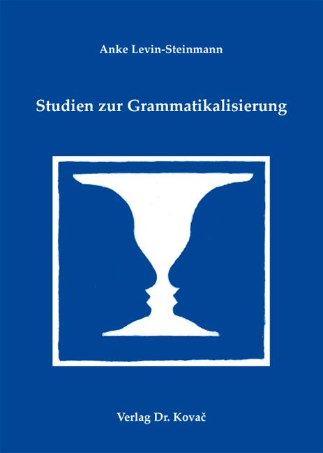 Cover: Studien zur Grammatikalisierung