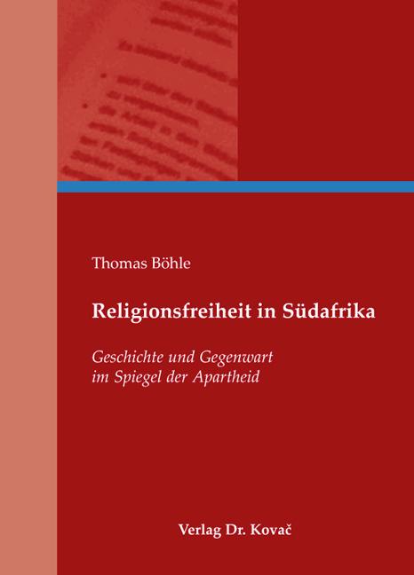 Cover: Religionsfreiheit in Südafrika