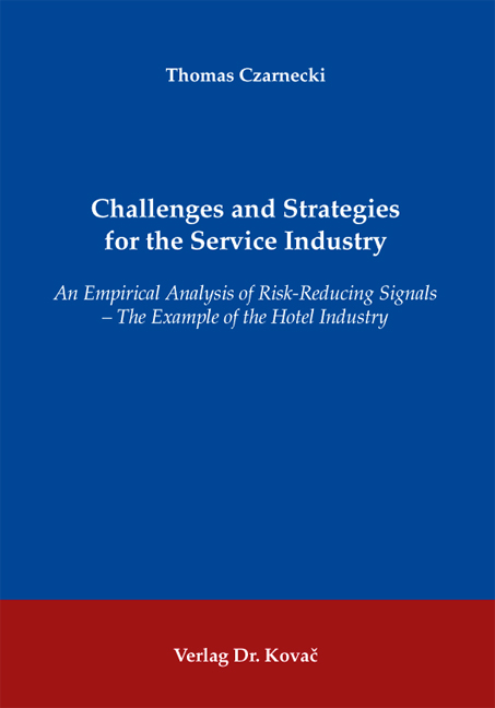 Cover: Challenges and Strategies for the Service Industry