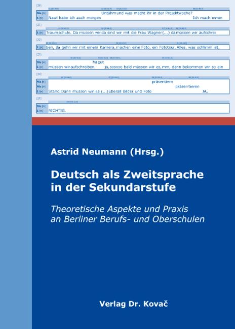 Cover: Deutsch als Zweitsprache in der Sekundarstufe