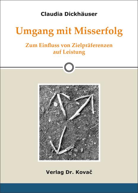 Cover: Umgang mit Misserfolg