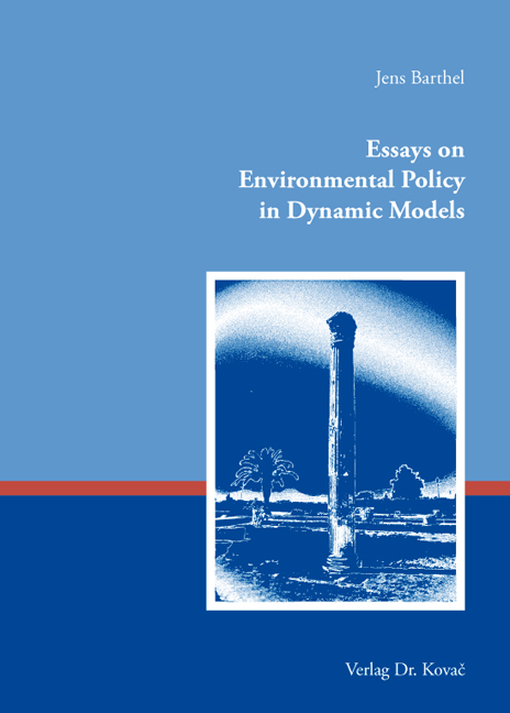 Cover: Essays on Environmental Policy in Dynamic Models