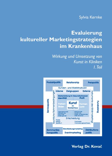 Cover: Evaluierung kultureller Marketingstrategien im Krankenhaus