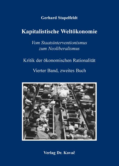 Cover: Kapitalistische Weltökonomie