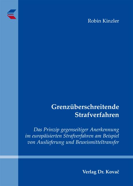 Cover: Grenzüberschreitende Strafverfahren