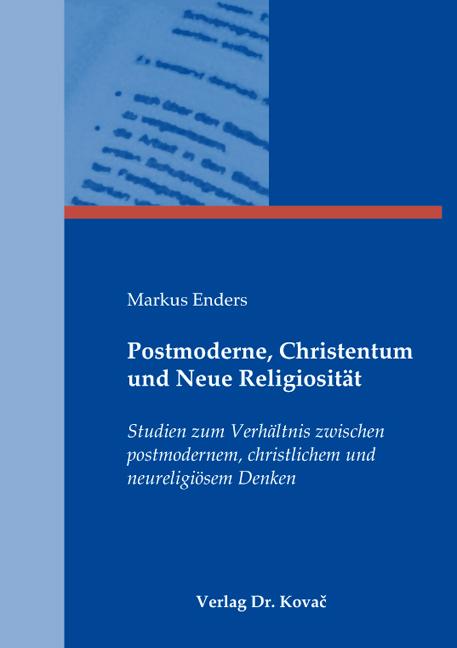 Cover: Postmoderne, Christentum und Neue Religiosität