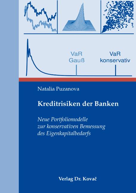 Cover: Kreditrisiken der Banken