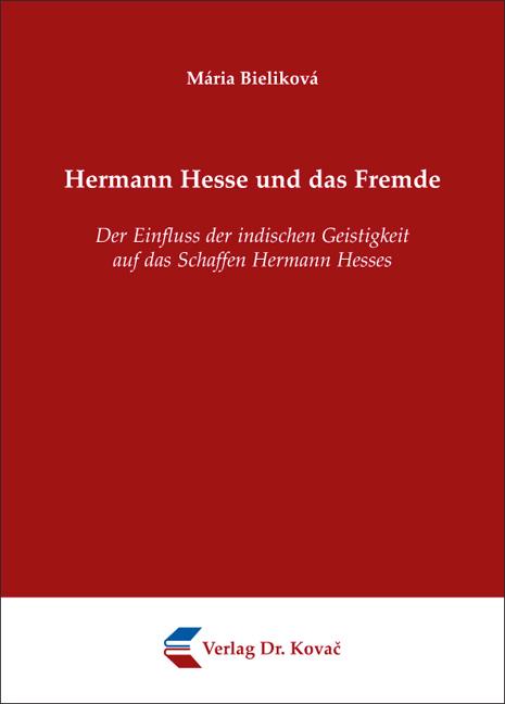 Cover: Hermann Hesse und das Fremde