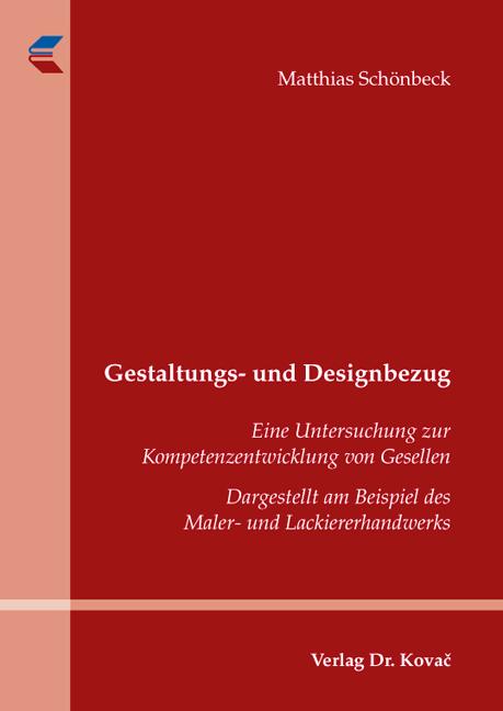 Cover: Gestaltungs- und Designbezug