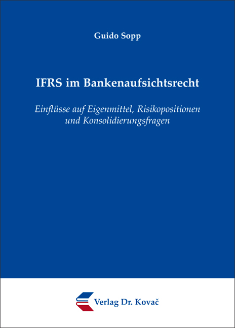 Cover: IFRS im Bankenaufsichtsrecht