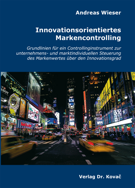 Cover: Innovationsorientiertes Markencontrolling