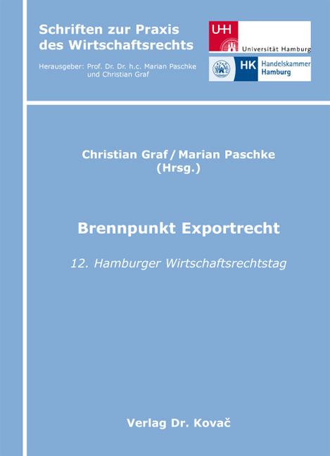 Cover: Brennpunkt Exportrecht