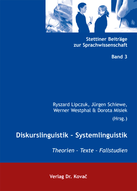 Cover: Diskurslinguistik – Systemlinguistik