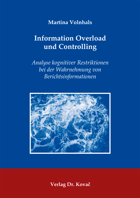 Cover: Information Overload und Controlling