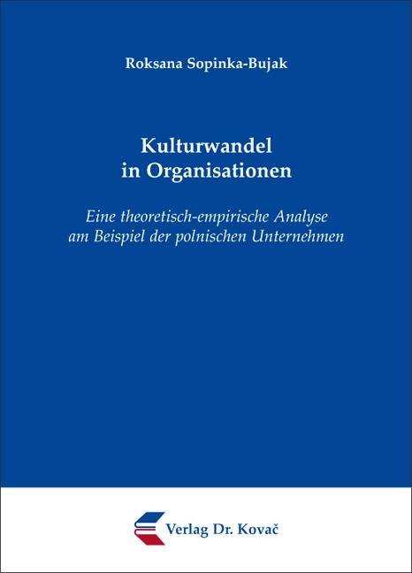 Cover: Kulturwandel in Organisationen