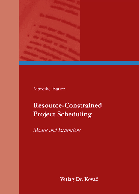 Cover: Resource-Constrained Project Scheduling