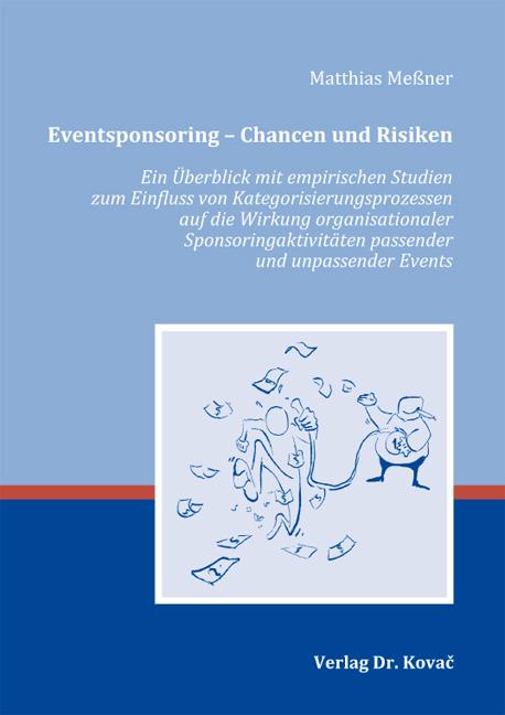 Cover: Eventsponsoring – Chancen und Risiken