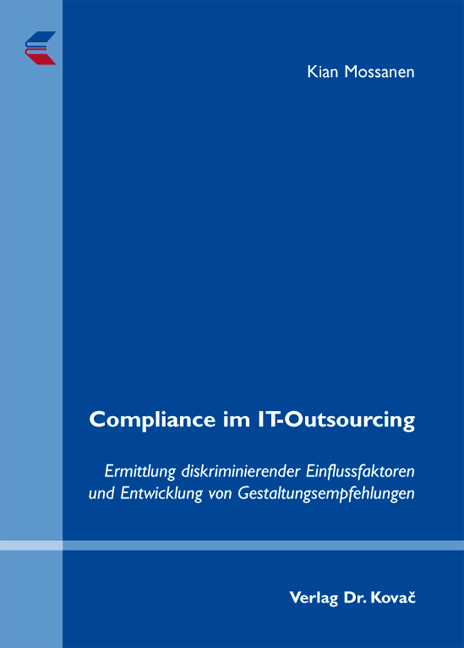 Cover: Compliance im IT-Outsourcing