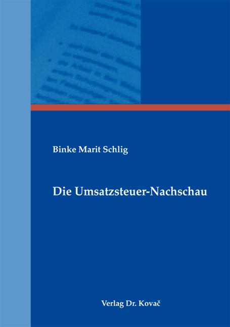 Cover: Die Umsatzsteuer-Nachschau