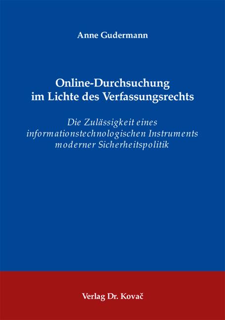 Dissertation online veröffentlichen