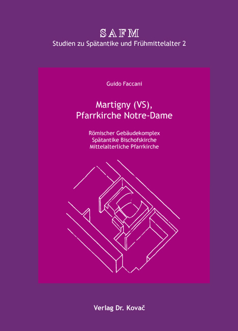 Cover: Martigny (VS), Pfarrkirche Notre-Dame