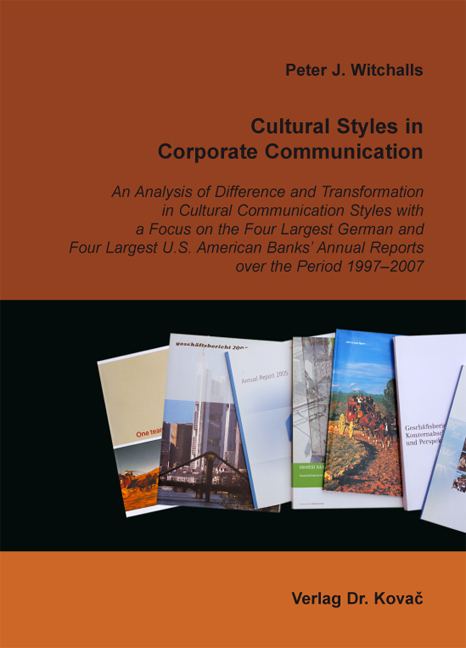 Cover: Cultural Styles in Corporate Communication