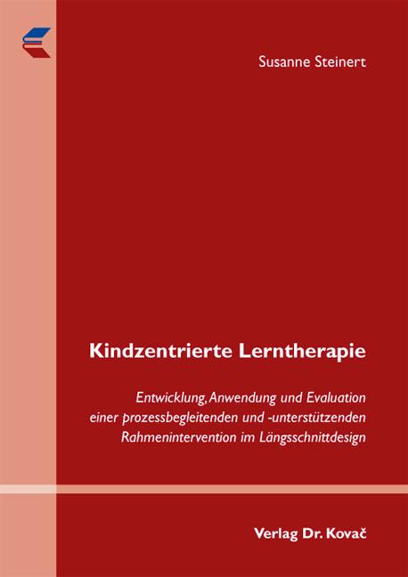 Cover: Kindzentrierte Lerntherapie