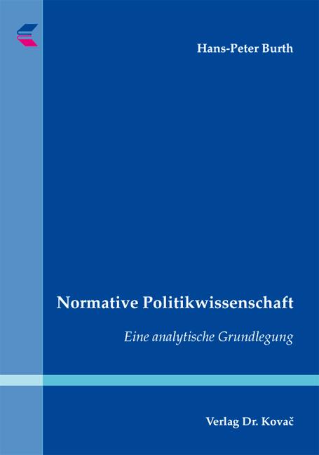 Cover: Normative Politikwissenschaft